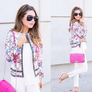 Colorful Floral Jacket